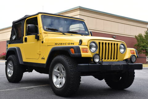 2004 Jeep Wrangler for sale at Wheel Deal Auto Sales LLC in Norfolk VA
