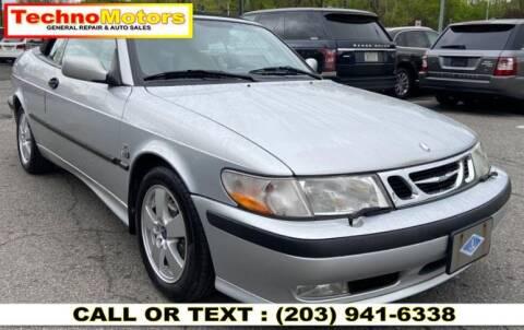 2003 Saab 9-3 for sale at Techno Motors in Danbury CT