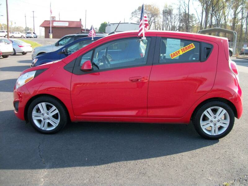 2015 Chevrolet Spark for sale at Lentz's Auto Sales in Albemarle NC