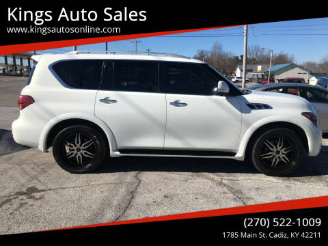2012 Infiniti QX56 for sale at Kings Auto Sales in Cadiz KY