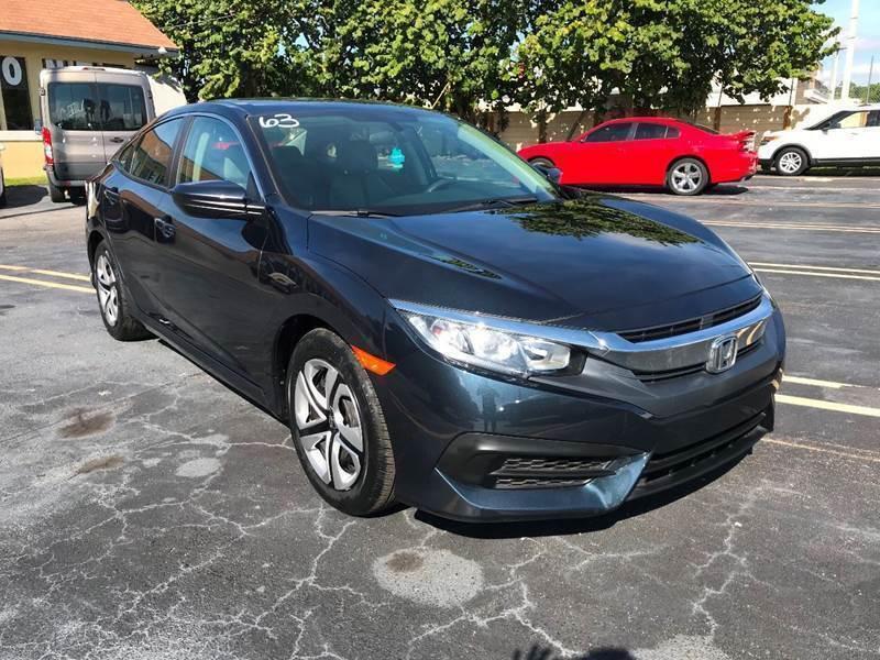 2018 Honda Civic for sale at LKG Auto Sales Inc in Miami FL