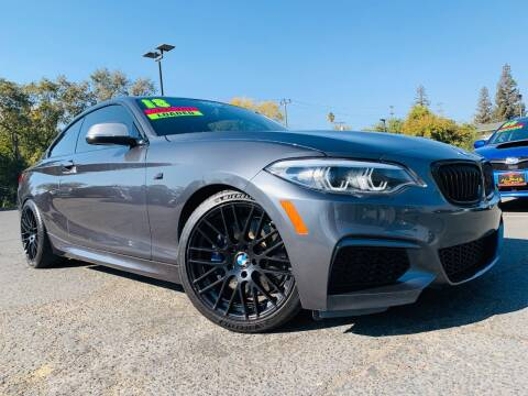 2018 BMW 2 Series for sale at Alpha AutoSports in Roseville CA