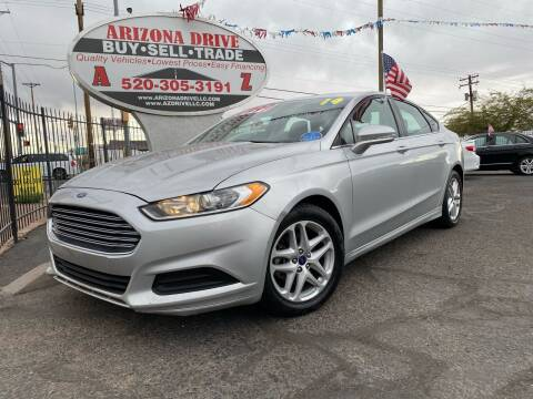 2014 Ford Fusion for sale at Arizona Drive LLC in Tucson AZ