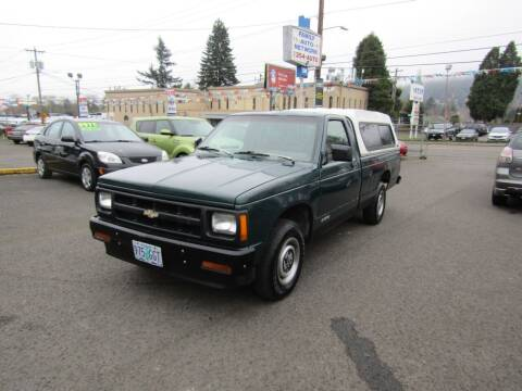 1993 Chevrolet S-10 for sale at ARISTA CAR COMPANY LLC in Portland OR