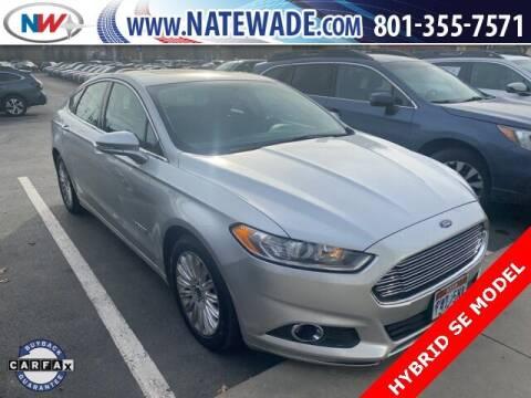 2016 Ford Fusion Hybrid for sale at NATE WADE SUBARU in Salt Lake City UT
