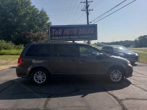 2015 Dodge Grand Caravan for sale at T & G Auto Sales in Florence AL