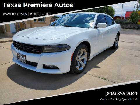 2015 Dodge Charger for sale at Texas Premiere Autos in Amarillo TX