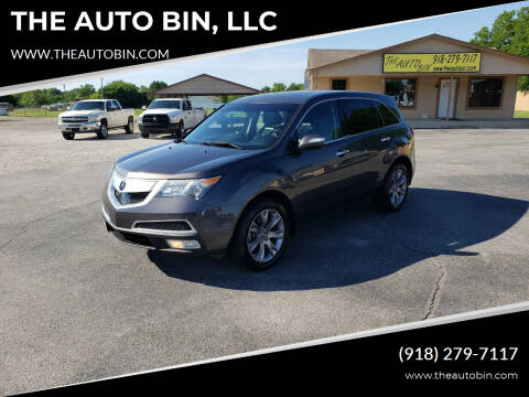 2011 Acura MDX for sale at THE AUTO BIN, LLC in Broken Arrow OK