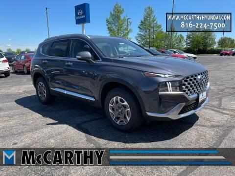 2021 Hyundai Santa Fe Hybrid for sale at Mr. KC Cars - McCarthy Hyundai in Blue Springs MO