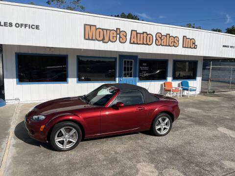 2006 Mazda MX-5 Miata for sale at Moye's Auto Sales Inc. in Leesburg FL