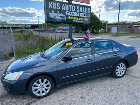 2007 Honda Accord for sale at KBS Auto Sales in Cincinnati OH