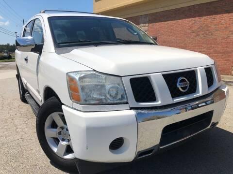 2007 Nissan Armada for sale at Gwinnett Luxury Motors in Buford GA