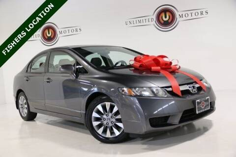 2009 Honda Civic for sale at Unlimited Motors in Fishers IN