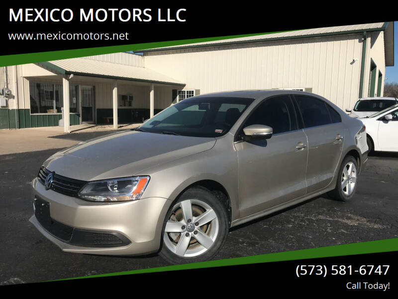 2013 Volkswagen Jetta for sale at MEXICO MOTORS LLC in Mexico MO