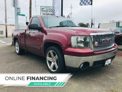 2008 GMC Sierra 1500 for sale at Salem Auto Market in Salem OR
