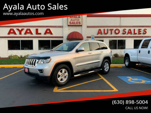 2013 Jeep Grand Cherokee for sale at Ayala Auto Sales in Aurora IL