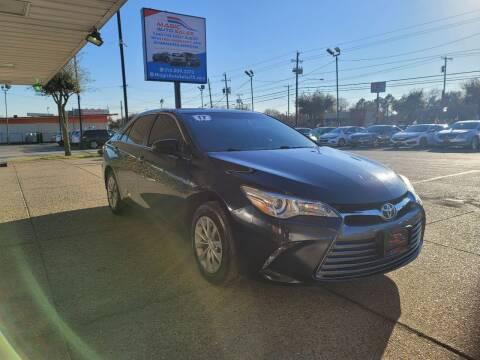 2017 Toyota Camry for sale at Magic Auto Sales in Dallas TX