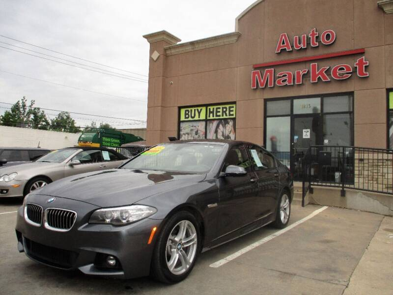 2016 BMW 5 Series for sale at Auto Market in Oklahoma City OK