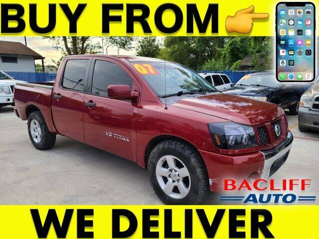 2007 Nissan Titan for sale at Bacliff Auto in Bacliff TX