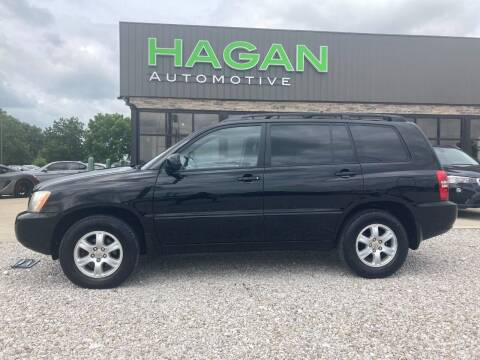 2003 Toyota Highlander for sale at Hagan Automotive in Chatham IL