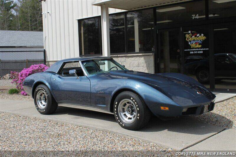 1975 Chevrolet Corvette for sale at Corvette Mike New England in Carver MA