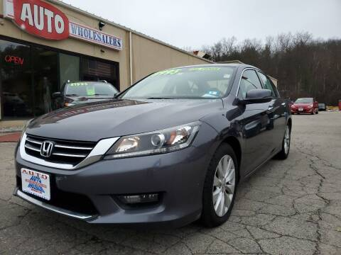 2015 Honda Accord for sale at Auto Wholesalers Of Hooksett in Hooksett NH