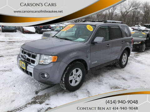 2008 Ford Escape Hybrid for sale at Carson's Cars in Milwaukee WI