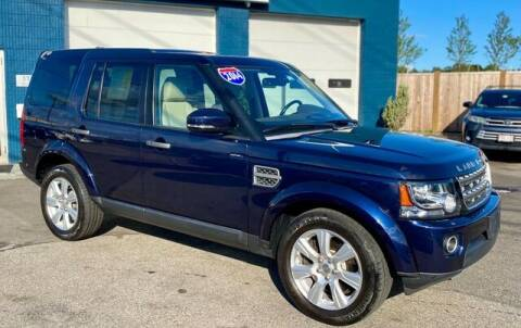 2014 Land Rover LR4 for sale at Saugus Auto Mall in Saugus MA