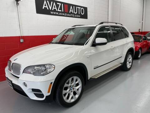 2013 BMW X5 for sale at AVAZI AUTO GROUP LLC in Gaithersburg MD