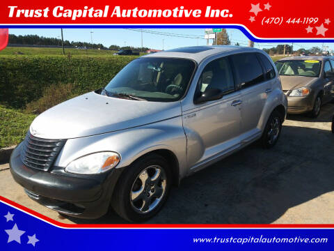 2002 Chrysler PT Cruiser for sale at Trust Capital Automotive Inc. in Covington GA