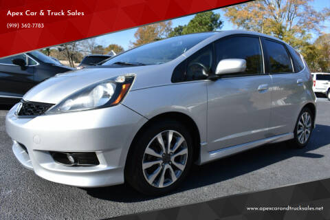 2013 Honda Fit for sale at Apex Car & Truck Sales in Apex NC