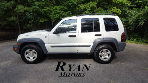 2007 Jeep Liberty for sale at Ryan Motors LLC in Warsaw IN