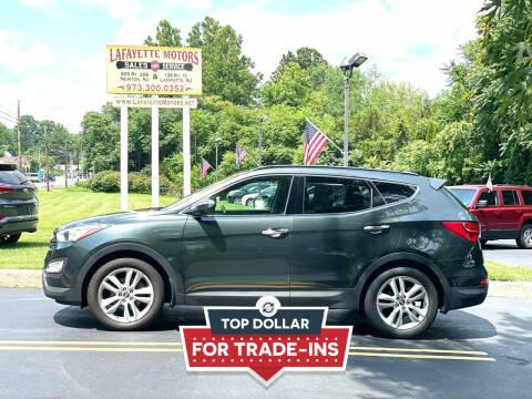 2014 Hyundai Santa Fe Sport for sale at Lafayette Motors 2 in Andover NJ