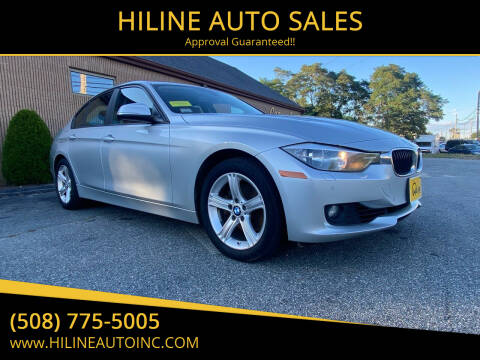 2014 BMW 3 Series for sale at HILINE AUTO SALES in Hyannis MA