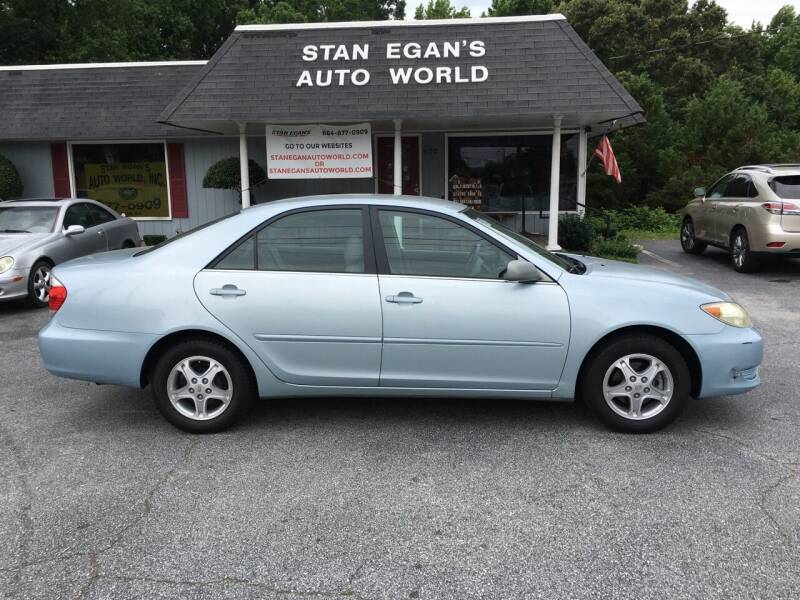 2006 Toyota Camry for sale at STAN EGAN'S AUTO WORLD, INC. in Greer SC