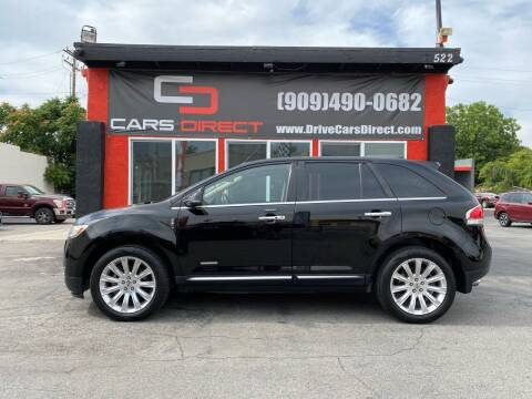 2012 Lincoln MKX for sale at Cars Direct in Ontario CA