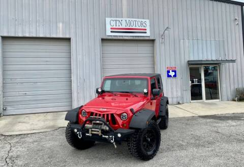 2011 Jeep Wrangler for sale at CTN MOTORS in Houston TX
