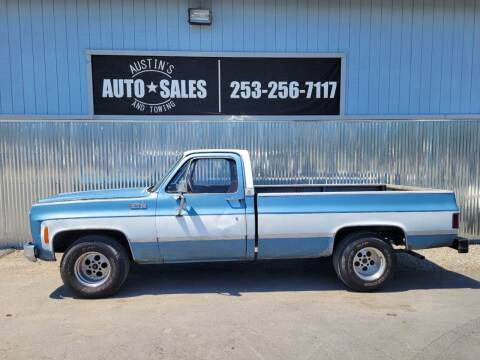 1980 Chevrolet C/K 10 Series for sale at Austin's Auto Sales in Edgewood WA