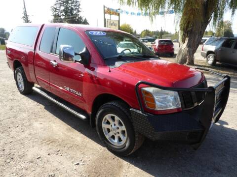 2005 Nissan Titan for sale at VALLEY MOTORS in Kalispell MT