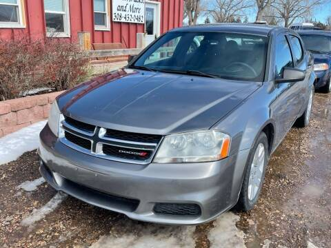 2013 Dodge Avenger for sale at Autos Trucks & More in Chadron NE