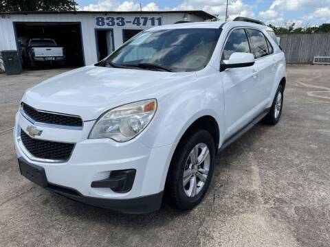 2010 Chevrolet Equinox for sale at AMERICAN AUTO COMPANY in Beaumont TX