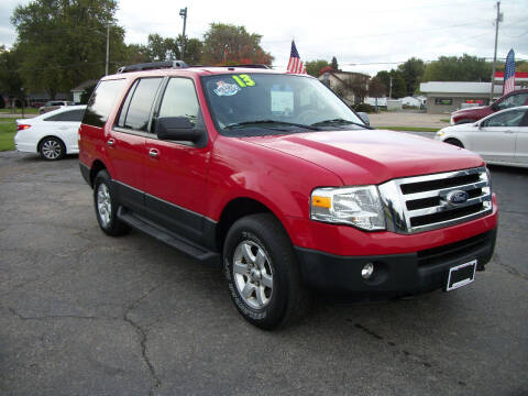 2013 Ford Expedition for sale at USED CAR FACTORY in Janesville WI