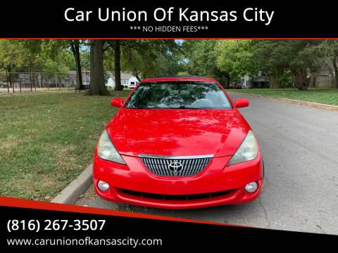 2004 Toyota Camry Solara for sale at Car Union Of Kansas City in Kansas City MO