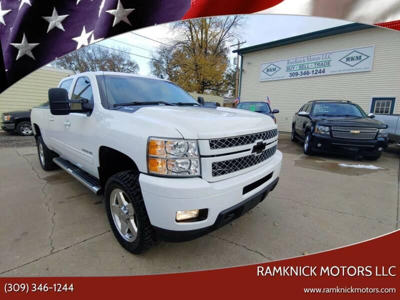 2012 Chevrolet Silverado 2500HD for sale at RamKnick Motors LLC in Pekin IL
