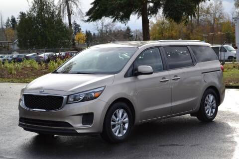 2015 Kia Sedona for sale at Skyline Motors Auto Sales in Tacoma WA