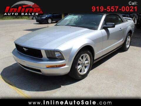 2008 Ford Mustang for sale at Inline Auto Sales in Fuquay Varina NC