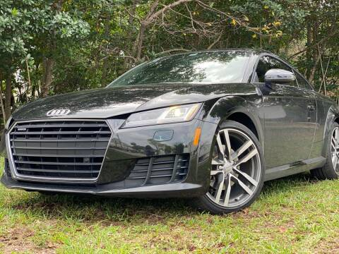2016 Audi TT for sale at HIGH PERFORMANCE MOTORS in Hollywood FL