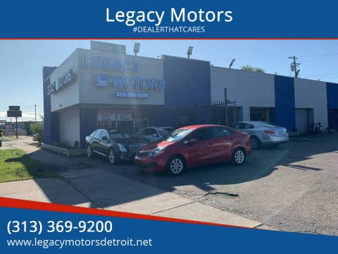 2015 Kia Rio for sale at Legacy Motors in Detroit MI