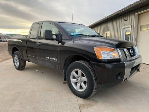 2013 Nissan Titan for sale at FAST LANE AUTOS in Spearfish SD
