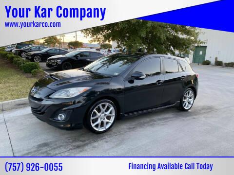 2012 Mazda MAZDASPEED3 for sale at Your Kar Company in Norfolk VA